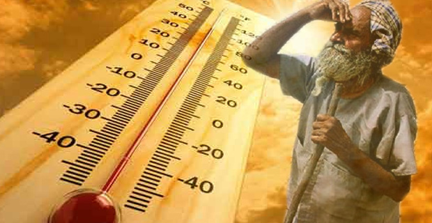 There is abnormally high temperatures during the summer season (April-May-June) in India which can cause heat-stroke also called 'loo'