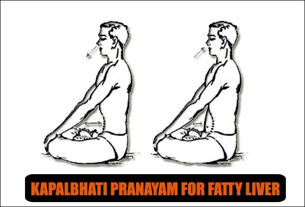 KapalBhati Pranayam Yoga has established benefits in liver ailments