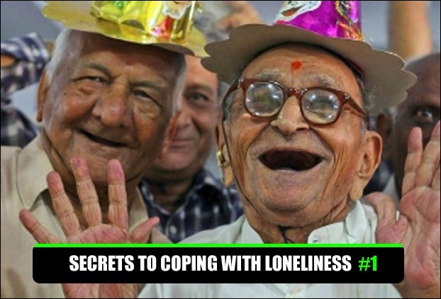 At an old age especially , social relationships protect people against loneliness