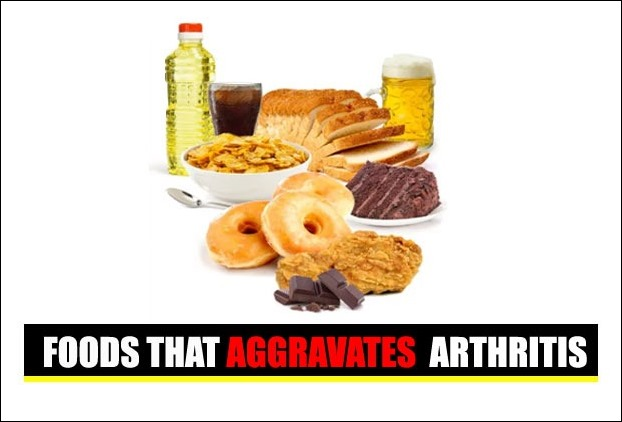 Foods bad for Arthritis