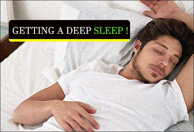 How to get more deep sleep with correct diet plan
