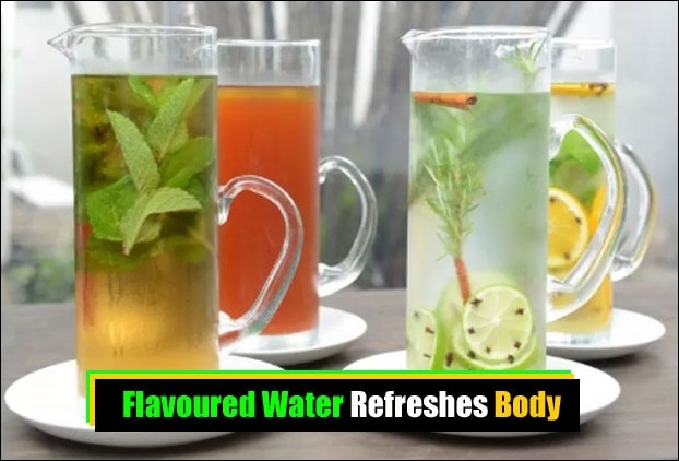 Flavoured water is becoming a fast choice among refreshing summer drinks
