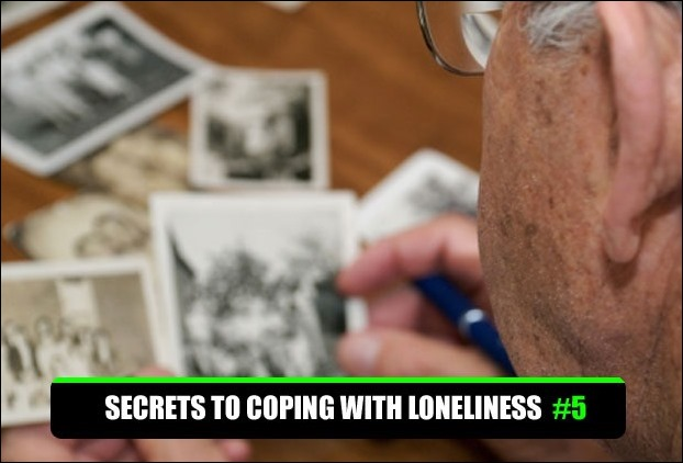 The feelings of loneliness and depression in old age can be countered by reminiscing