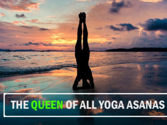 Sarvangasana or Shoulder stand posture is called the queen of all yoga poses.