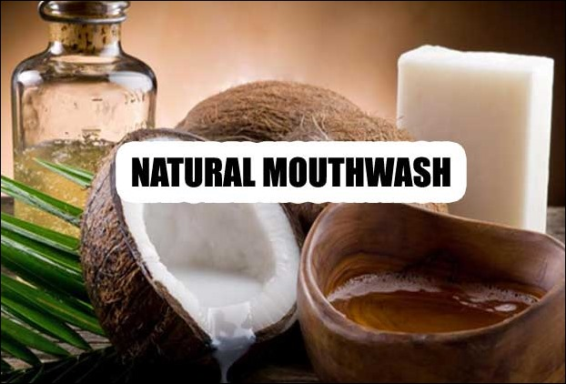 Natural Mouth wash from Coconut Oil
