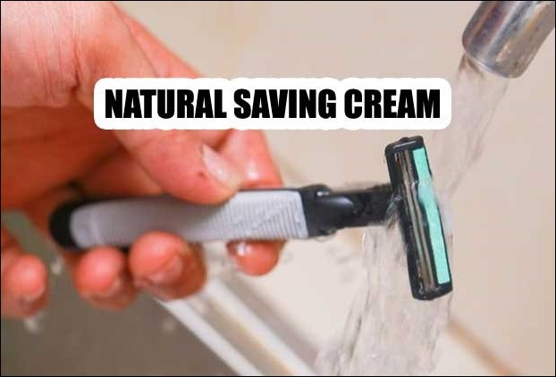 Natural saving cream from Coconut Oil