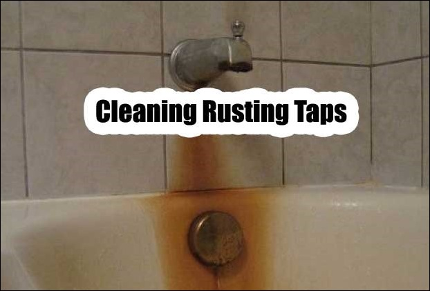 Bathroom equipment's rust remover