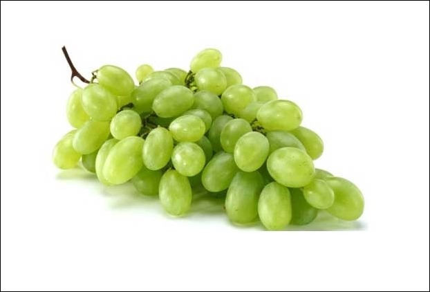 Potassium present in grapes is very helpful to control blood pressure