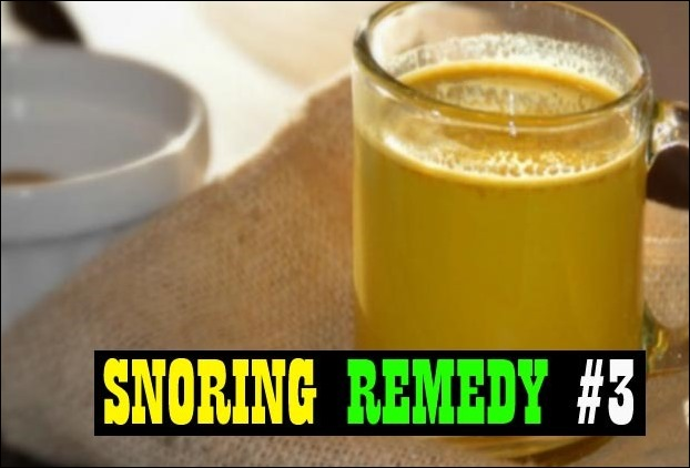 Turmeric magically treats snoring issues